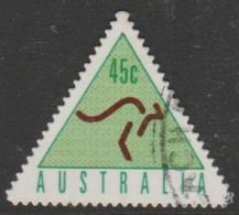 AUSTRALIA - DIE-CUT-USED 1994 45c Automatic Teller Machine Booklet Stamp - Green - 1990-99 Elizabeth II