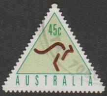 AUSTRALIA - DIE-CUT-USED 1994 45c Automatic Teller Machine Booklet Stamp - Light Green - 1990-99 Elizabeth II