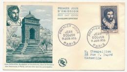 6 Enveloppes FDC - Série Des Célébrités ( Série Ravel...) - 9 Juin 1956 - FDC