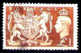 13982  UK Yv 259 - Used - 6,75 (35)  Sb - 1902-1951 (Rois)