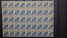A135-9  Belle 1/2 Feuille De 50 Timbres Du Maroc N° 223 ** . De Plus En Plus RARE !!! - Maroc (1891-1956)