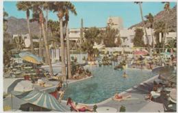 Phoenix AZ  Camelback Inn Vintage Petley Pool View Postcard - Scottsdale