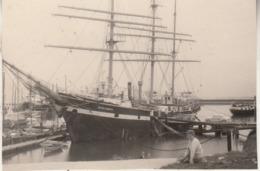 Delfzijl - 3-masten Boot - 1962 - Foto 7 X 11 Cm - Boten