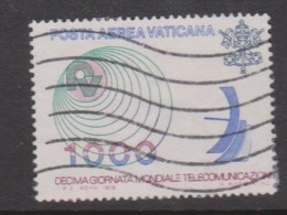 Vatican City AP 65 1978 Telecommunications World Day  .1000 Lire,used - Vatican