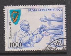Vatican City AP 71 1980 Pope Travels .1000 Lire,used - Vatican