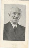 Burgemeester, Edmond Snacken, Borsbeek, Lillo, 1959 - Devotieprenten