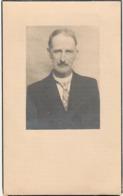 Burgemeester,Petrus Van Roy, Denderbelle, Wieze, 1946, Van Cauter - Devotieprenten