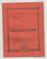 JC , Protége Cahier , Les Presses Du Massif Central ,GUERET ,orange, 2 Scans , Frais Fr 1.95 E - Protège-cahiers