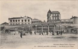 G5-33) SOULAC MER (GIRONDE) LES HOTELS DE LA PLAGE - (2 SCANS) - Soulac-sur-Mer