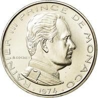 Monnaie, Monaco, Rainier III, Franc, 1974, FDC, FDC, Nickel, Gadoury:MC 150 - Monaco