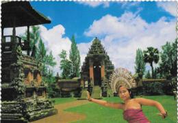 BALI - The Noted Taman Ajun And A Graceful Djanger Dancer - Indonesia