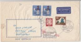 China / Returned Mail / Airmail / Germany - China