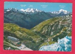 Modern Post Card Of Belvedere-Furka,Valais,, Switzerland.A28. - VS Valais