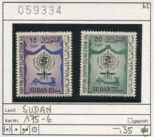 Sudan - Michel 175-176 - ** Mnh Neuf Postfris - Malaria - Sudan (1954-...)