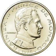 Monnaie, Monaco, Rainier III, 1/2 Franc, 1974, FDC, FDC, Nickel, Gadoury:MC 149 - Monaco