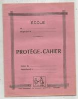 JC , Protége Cahier , Les Presses Du Massif Central ,GUERET , Rose, 2 Scans , Frais Fr 1.95 E - Protège-cahiers