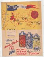 JC , Protége Cahier , FLAMBO , L'UNION FRANCAISE, 2 Scans , Frais Fr 1.95 E - Protège-cahiers