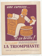 JC , Protége Cahier , LA TRIOMPHANTE , 2 Scans , Frais Fr 1.95 E - Protège-cahiers