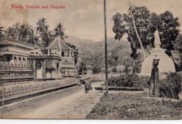 Kandy Temple Colombo Dagoba Temple De La Dent Sri Lanka Ceylan - Sri Lanka (Ceylon)