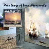 Maldives 2019  Paintings Of Ivan Aivazovsky  S201909 - Maldives (1965-...)