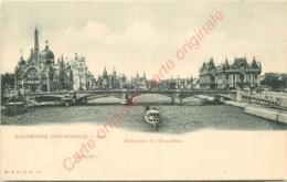 EXPOSITION UNIVERSELLE 1900 .  Panorama . - Tentoonstellingen