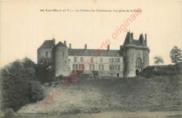 35.. LES IFS .  Le Château De Montmuran . Vue Prise De La Vallée . - Autres Communes