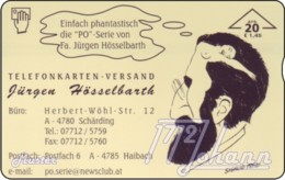 AUSTRIA Private: *Hösselbarth - Freud* - SAMPLE [ANK F544] - Autriche