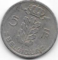 BELGIQUE 1966 - 5 Francs - 1951-1993: Baudouin I