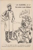 ILLUSTRATEUR DE CAUNES  - LA GUERRE - NOUS AURONS TA PEAU, GUILLAUME !  - WW1 -  EDITEUR LACLAU , TOULOUSE - 2 SCANS - Patriottisch