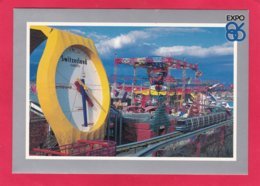 Modern Post Card Of World`s Largest Swatch,Expo 86,Vancouver,British Columbia,Canada,A29. - Vancouver