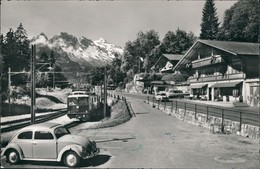 Ansichtskarte Hasliberg Umlandansicht Brüning Passhöhe Mit Eisenbahn 1959 - BE Berne
