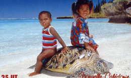 Telecarte De Nouvelle Caledonie NC 114 Enfants / Tortue - Nouvelle-Calédonie