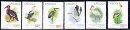 Angola, Scott 2019 No. 683-688, Issued 1984, Set Of 6, MNH, Cat. $8.85, Birds - Angola