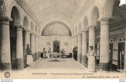 D32  BARBOTAN LES THERMES  Vue Intérieure Des Bains Sulfureux   ..... - Barbotan