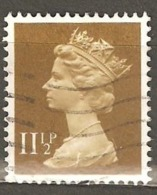 Great Britain: 1 Used Stamp From A Set, 1979, Mi#801 - Série 'Machin'