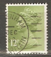 Great Britain: 1 Used Stamp From A Set, 1980, Mi#821(2) - Machins