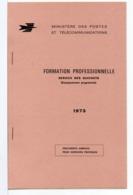 FICTIFS - CARNET DE FORMATION PROFESSIONNELLE 1973 N° FC 3 - Phantom
