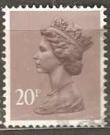 Great Britain: 1 Used Stamp From A Set, 1980, Mi#828C(4) - Série 'Machin'