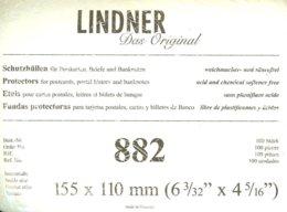LINDNER - ETUIS De PROTECTION 155x110 Mm (Cartes Postales,REF. 882) - Ohne Zuordnung