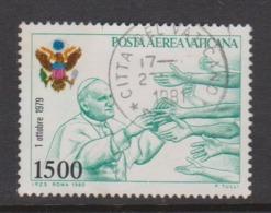 Vatican City AP 72 1980 Pope Travels .1500 Lire,used - Vatican