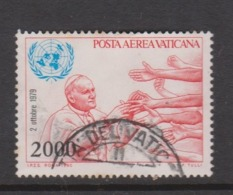 Vatican City AP 73 1980 Pope Travels .2000 Lire,used - Vatican