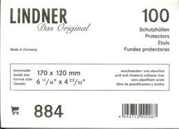 LINDNER - ETUIS De PROTECTION 170x120 Mm (Lettres Formt C6,REF. 884) - Matériel