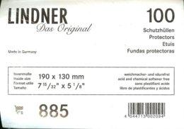 LINDNER - ETUIS De PROTECTION 190x130 Mm (Grands Documents,REF. 885) - Buste Trasparenti
