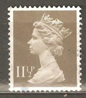 Great Britain: 1 Used Stamp From A Set, 1981, Mi#862 - Série 'Machin'