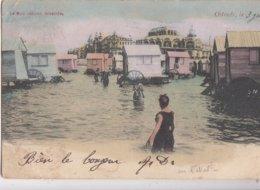 OOSTENDE   / STRAND MET CABINES 1903 - Oostende