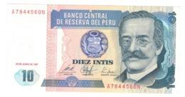Peru 10 Intis, 1997. UNC. - Perú