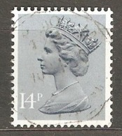 Great Britain: 1 Used Stamp From A Set, 1981, Mi#863 - Série 'Machin'