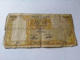 Algeria, Tunisia, 1000 Francs, 16-12-1949 - Algeria