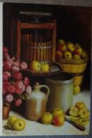 Petit Calendrier De Poche 1997  Illustration  APBP Le Temps Des Récoltes Pommes.....peintre De La Bouche - Calendars