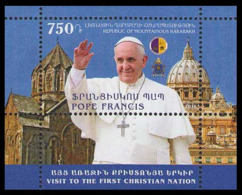 2016Karabakh Republic122/B14Visit Of Pope Francis - Päpste